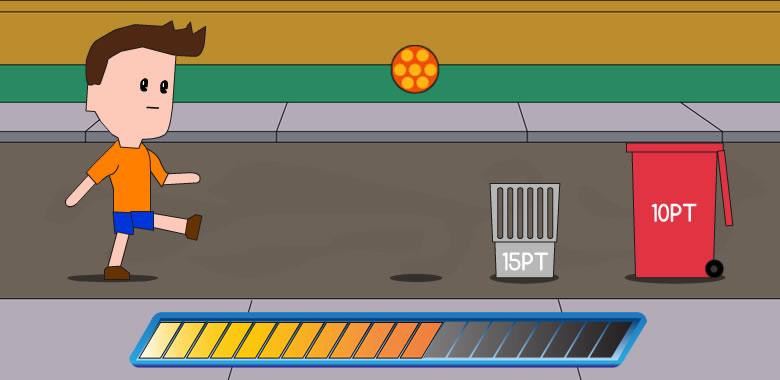 Trick Shot Ball - HTML5 Game - 1