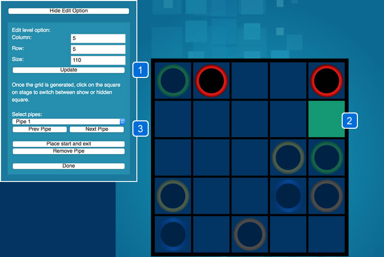 Pipe Flow - HTML5 Game - 1